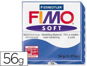 PASTA STAEDTLER FIMO SOFT AZUL BRILLANTE 56 GR