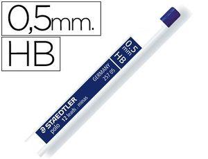MINAS POLO 0,5 MM HB TUBO 12 UD