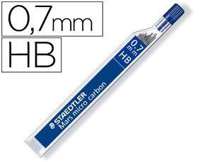 MINAS MARS MICRO 0,7 MM HB TUBO 12 UD
