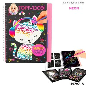 LIBRO TOP MODEL MAGIC-SCRATCH
