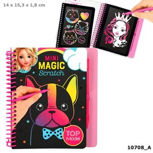 LIBRO ESCRITURA MINI MAGIC SCRATCH TOP MODEL