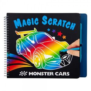 LIBRO MINI MAGIC SCRATCH MONSTER CARS