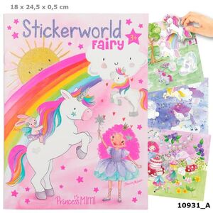 LIBRO PEGATINAS PRINCESS MIMI FAIRY STICKERWORLD