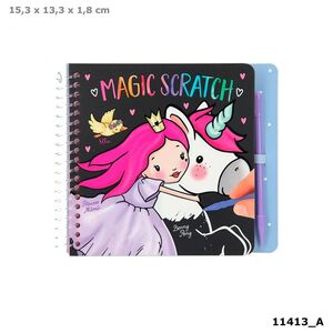 LIBRO COLOREAR MAGICO SCRATCH PRINCESS MIMI MINI