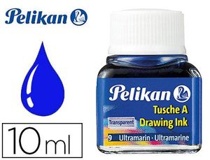 TINTA CHINA PELIKAN AZUL ULTRA FRASCO 10 ML