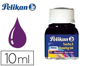 TINTA CHINA PELIKAN VIOLETA N.12 FRASCO 10 ML