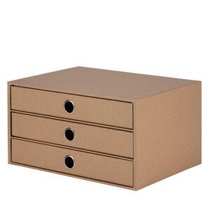 BOX 3 CAJONES A4 CARTON DURO ROSSLER S.O.H.O. KRAFT