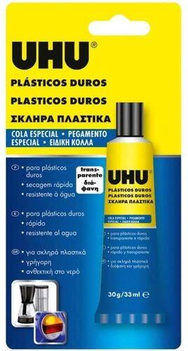 UHU PLASTICO DURO 33 ML
