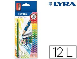 LAPICES COLORES LYRA SLIM C-12