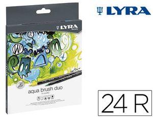 LYRA AQUA BRUSH DUO ESTUCHE 24 UD