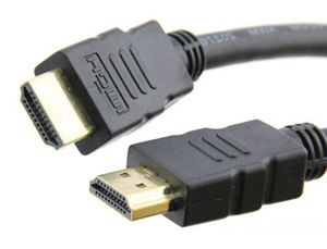CABLE HDMI MEDIARANGE 1,4 PINES ALTA VELOCIDAD LONGITUD 1,5 MT COLOR NEGRO