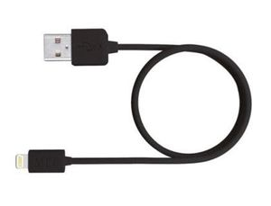 CABLE USB 2.0 A APPLE LIGHTNING MEDIARANGE USB 2.0 LONGITUD DE CABLE 1 MT NEGRO