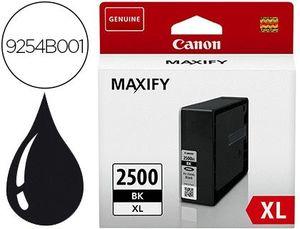 INK-JET CANON PGI 2500 XL MAXIFY IB4050 / MB5050 / MB5155 / MB5350 / MB5450 NEGRO 2500 PAGINAS