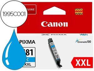 INK-JET CANON 581 XXL TS9550 / TS705 CIAN 830 PAGINAS