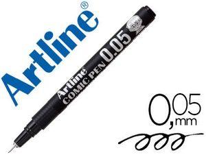 ROTULADOR ARTLINE CALIBRADO MICROMETRICO NEGRO COMIC PEN EK-2805 PUNTA POLIACETAL 0,05 MM RESISTENTE