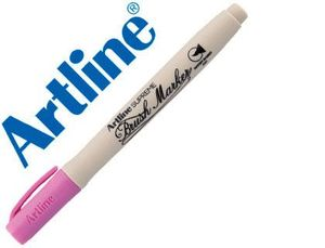 ROTULADOR ARTLINE BASE AGUA PINCEL ROSA