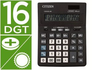 CALCULADORA CITIZEN SOBREMESA BUSINESS LINE ECO EFICIENTE 16 DIG