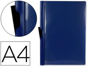 DOSSIER PINZA LATERAL PP A4 AZUL 30 HJ