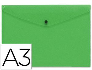 CARPETA BROCHE A3 VERDE