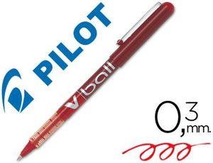 ROTULADOR PILOT V-BALL 0,5MM ROJO