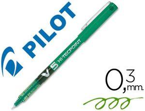 ROTULADOR PILOT V-5 VERDE