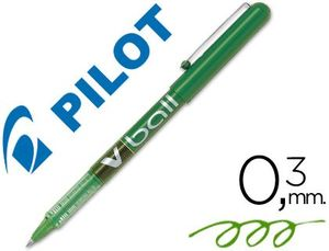 ROTULADOR PILOT V-BALL 0,5 MM VERDE