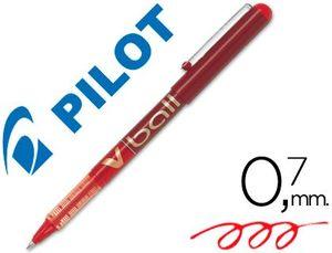 ROTULADOR PILOT V-BALL 0,7 MM ROJO