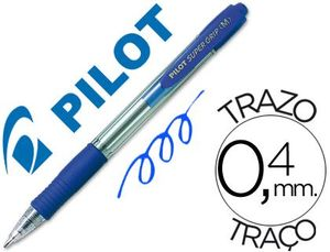 BOLIGRAFO PILOT SUPER GRIP AZUL
