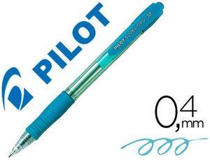 BOLIGRAFO PILOT SUPER GRIP AZUL CLARO