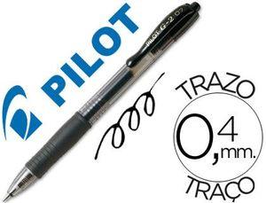 ROTULADOR GEL PILOT G-2 NEGRO
