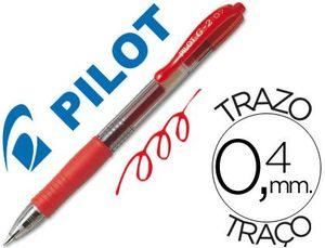 ROTULADOR GEL PILOT G-2 ROJO