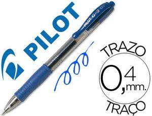 ROTULADOR GEL PILOT G-2 AZUL
