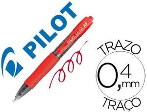 BOLIGRAFO GEL PILOT G-2 PIXIE ROJO