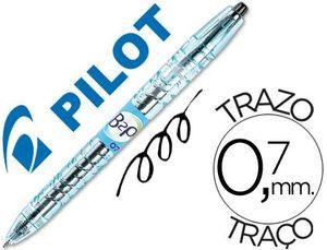 BOLIGRAFO BOTELLA PILOT B2P 0,7 BEGREEN NEGRO
