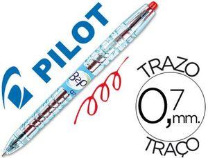 BOLIGRAFO BOTELLA PILOT B2P 0,7 BEGREEN ROJO