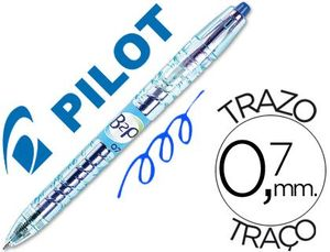 BOLIGRAFO BOTELLA PILOT B2P 0,7 BEGREEN AZUL