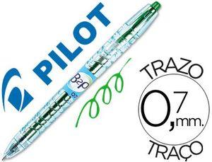 BOLIGRAFO BOTELLA PILOT B2P 0,7 BEGREEN VERDE