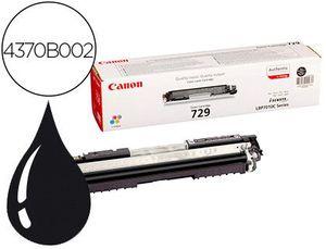 TONER CANON 729 BK I-SENSYS LBP7010C / LBP7018C NEGRO 1.200 PAG