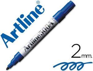 ROTULADOR ARTLINE PIZARRA EK-500 AZUL 2 MM RECARGABLE