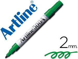 ROTULADOR ARTLINE PIZARRA EK-500 VERDE 2 MM RECARGABLE