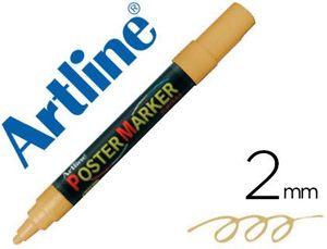 ROTULADOR ARTLINE POSTER MARKER EPP-4 ORO METALIZADO