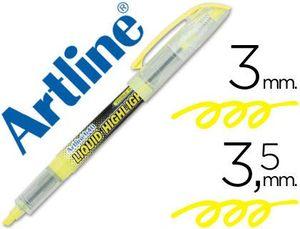 ROTULADOR ARTLINE FLUORESCENTE EK-640 AMARILLO