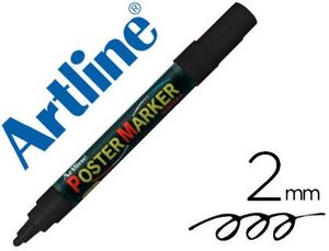 ROTULADOR ARTLINE POSTER MARKER EPP-4 NEGRO