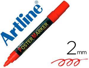 ROTULADOR ARTLINE POSTER MARKER EPP-4 ROJO