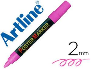 ROTULADOR ARTLINE POSTER MARKER EPP-4 ROSA FLUOR