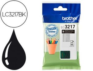 CARTUCHO INK-JET BROTHER LC3217BK MFCJ6530 / MFCJ6935 NEGRO 550 PAGINAS