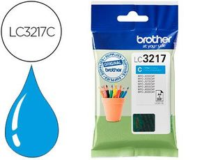 CARTUCHO INK-JET BROTHER LC3217C MFCJ6530 / MFC-J6935 CIAN 550 PAGINAS
