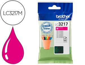CARTUCHO INK-JET BROTHER LC3217M MFCJ6530 / MFCJ6935 MAGENTA 550 PAGINAS
