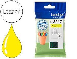 CARTUCHO INK-JET BROTHER LC3217Y MFCJ6530 / MFC-J6935 AMARILLO 550 PAGINAS