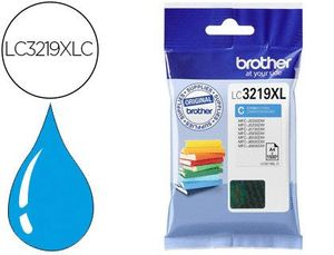 INK-JET BROTHER LC-3219XLC MFC-J6530DW / MFC-J6930DW CIAN 1.500 PAG